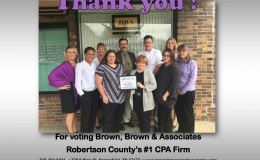 Robertson County #1 CPA Firm